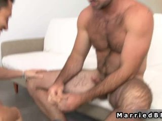 Married Guy Acquires Hawt Gay Blowjob And Fuck