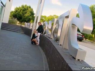 Portuguese Erica Fontes banged in public