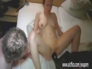 Fisting and Boot Fucking Her Ruined Pussy