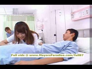 verpleegster, ziekenhuis, aziatisch
