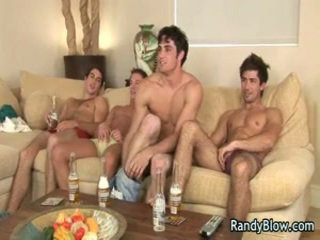 Gay Movie Scenes Of Super Hawt Studs In Gay Foursome 5 By Randyblow