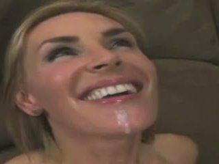 射精, 楽しい 熟女 すてきな, すてきな フェイシャル