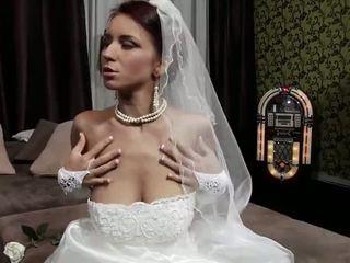 echt jong, plezier oud neuken, een bruid actie