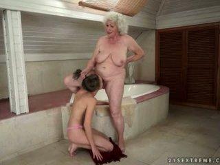 granny pussy licking