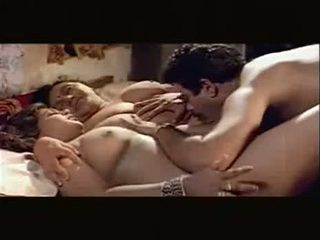Threesome lucky guy
