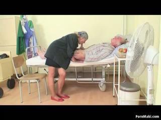Granny Watches Grandpa Fucks Nurse in Hospital: Porn ea