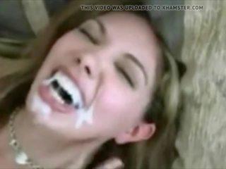 cumshots, u cum in de mond seks, kwaliteit gezichtsbehandelingen film