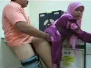 Hijab kantor fuck