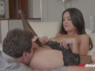 fresh brunette thumbnail, more husband clip, 18 year old