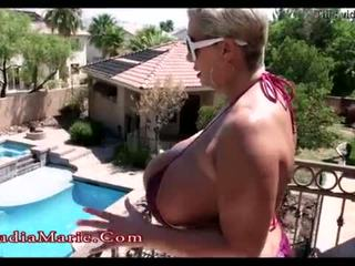 Claudia marie besar tit musim panas <span class=duration>- 4 min</span>