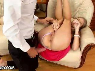anaal scène, vol grote pik, gapende klootzakken scène