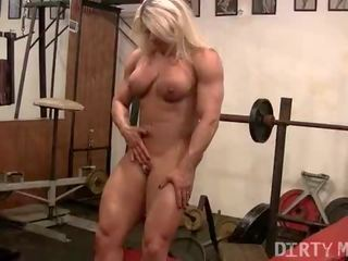 fbb seks, zien female muscle film, female bodybuilder