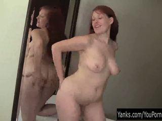 Redhead Ginny Masturbating Her Pussy