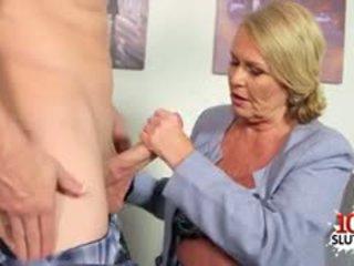 granny, blowjob, anal, blonde