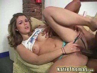 Katie är hungered för svart shlong