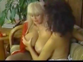 Retro Big Titty Lesbian, Free Vintage Porn 90