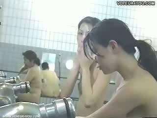 Voyeur Defenceless Female Bathroom