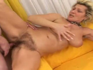 Nice mature getting nailed from behind so deep