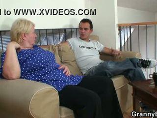 controleren grootmoeder porno, vol oma, zien volwassen video-
