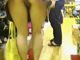 Amatoriale - Camera Nascosta - Oops - Senza Mutand