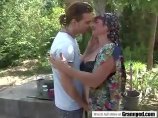 nominale grannies, vol matures, nominale roodharigen video-
