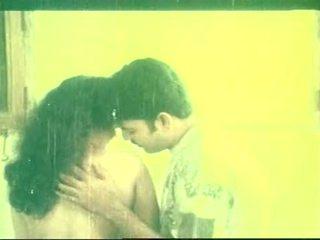 Indian Softcore Actress Babylona Hot Kiss