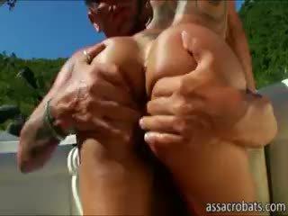 see brunette, big boobs fresh, anal
