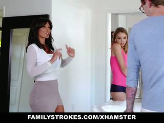 Familystrokes - College Bro Cums Home to Horny Sis: Porn 71