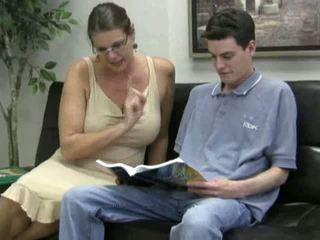sânii mari, matur, mamele și boys