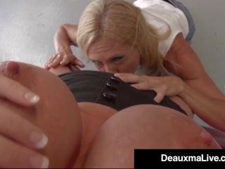 Texas Cougar Deauxma Pays Busty Mechanic Brooke Tyler W