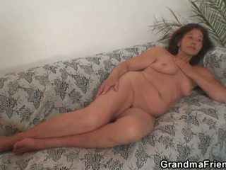 een realiteit scène, meer oud video-, heetste grootmoeder seks