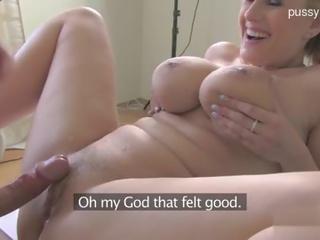 quality big tits, quality casting porno, blonde action