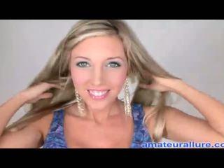 nieuw blondjes, cum video-, oraal video-