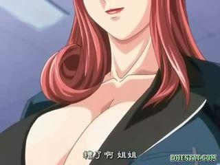 Duży busted hentai uczennica gorące tittyfucking i