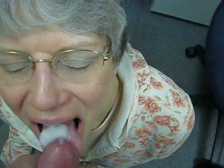 Oma liebt warmes sperma im mund, miễn phí khiêu dâm c7