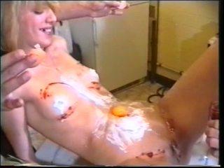 Quente randy gaja obter dildo e caralho a foder anal e garanhão getting boned por domina