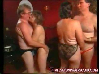 beste groepsseks video-, swingers porno, kijken oma