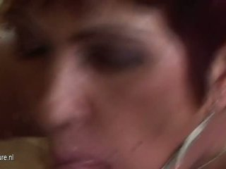 Son Piss and Cums Inside Mature Mother, Porn 6a