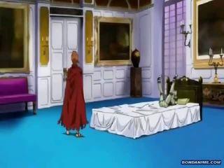 Kuuma blondi gets a bondage cruxifiction