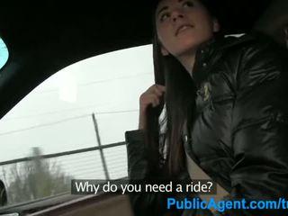 Publicagent seks w the samochód z a hitch hiker - porno wideo 121