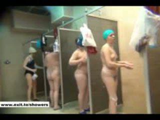 voyeur, shower, public, russian