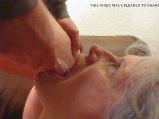 online pijpen neuken, meer cum in de mond, oma
