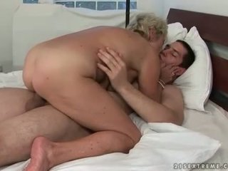 suck posted, any old, online grandma vid