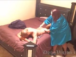 Anal BBW Mature Escort Notices Spy Cam