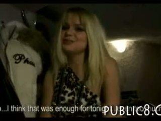 Czech girl in a club ass fucked for cash