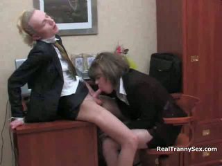 meer office sex gepost, een panty kanaal