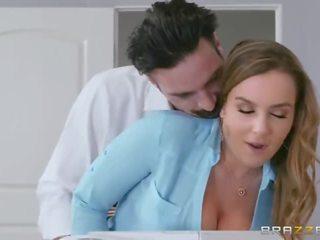 Hot Big Tit Office Slut - Brazzers