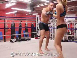 Hd fantasyhd - natalia starr wrestles αυτήν τρόπος σε γαμώ session