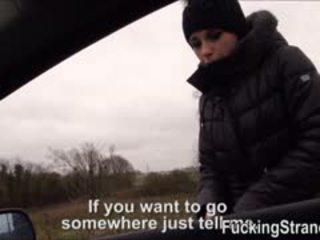 Stranded Euro Teen Nikita Bellucci Fucked Inside The Car