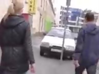 Blonde Picked up by Man who Wanted to Help Her...